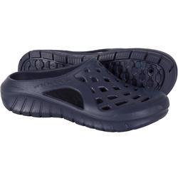 男款泳池拖鞋100-海軍藍
