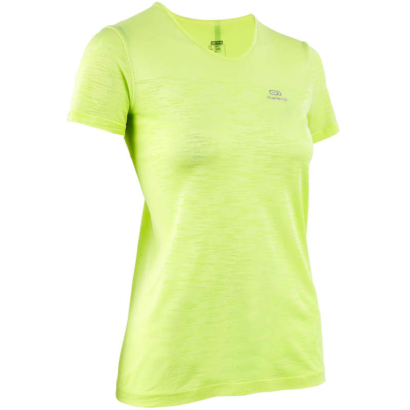 WOMAN WARM/MILD WEATHER RUNNING CLOTHES Clothing -  KIPRUN CARE WOMEN'S TS KALENJI - Tops