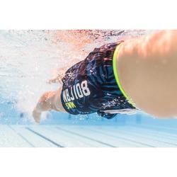 Korte heren zwemshort 100 All Lia zwart NBJI