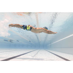 Schwimmshorts 100 Long All Race Herren grün