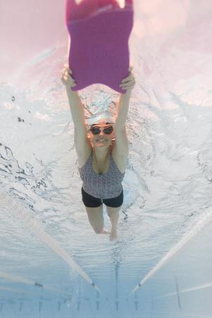 Traje de baño de natación mujer una pieza Loran tankini mipy negro