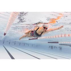 Maillot de bain de natation femme une pièce Taïs Mao noir