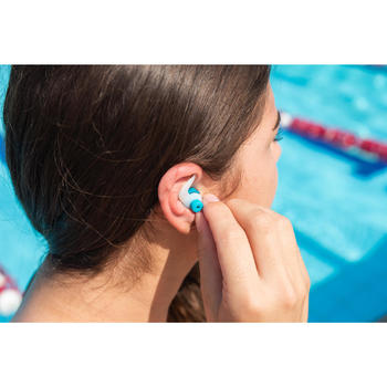 樹狀矽膠游泳耳塞FIR - 3種尺寸/多色