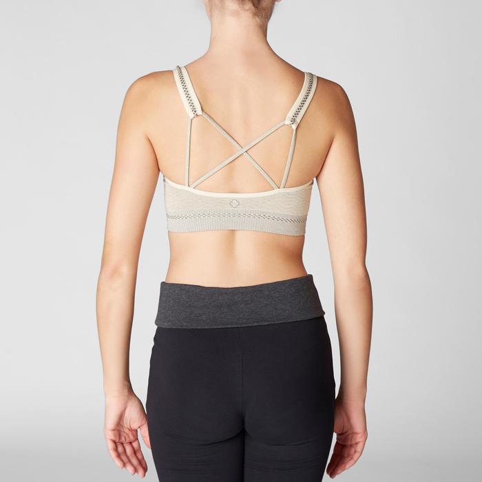 Bustier Yoga nahtlos beige
