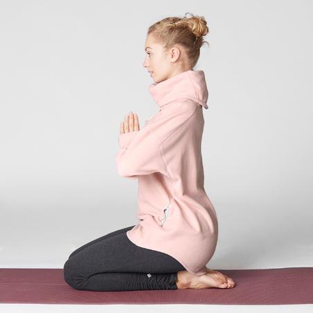Coton ouaté relaxation yoga rose chiné– Femmes