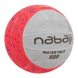 Waterpolobal 500 maat 4 roze grijs