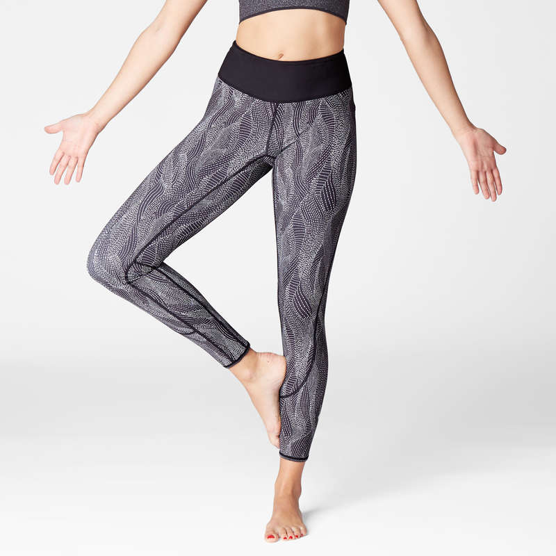WOMAN YOGA APPAREL - Dynamic Yoga Leggings DOMYOS