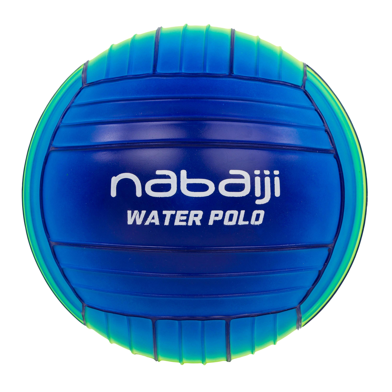 Balón grande piscina azul verde
