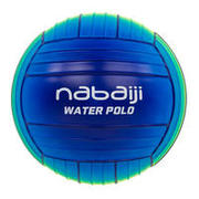 Large blue green pool ball