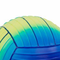 Grote zwembadbal blauw groen