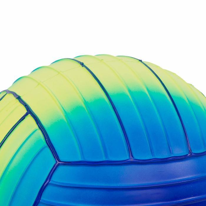 Petit ballon piscine jaune bleu