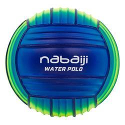 Wasserball klein gelb/blau