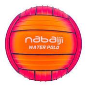 Balón grande piscina naranja azul