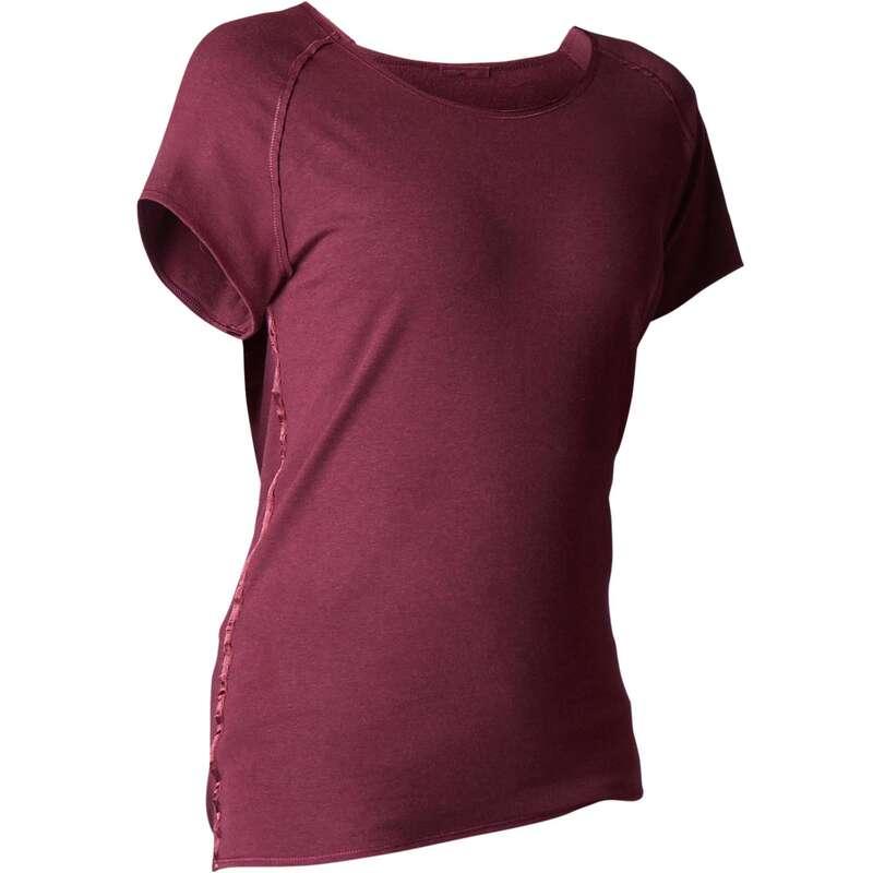 WOMAN YOGA APPAREL Clothing - Women's Gentle Yoga T-Shirt DOMYOS - By Sport