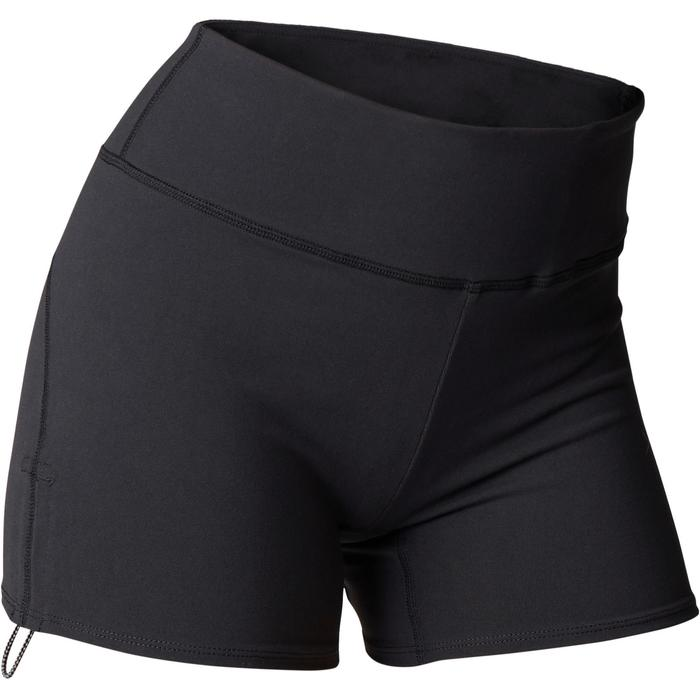 Shorts dynamisches Yoga schwarz