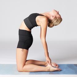 Short dynamische yoga zwart