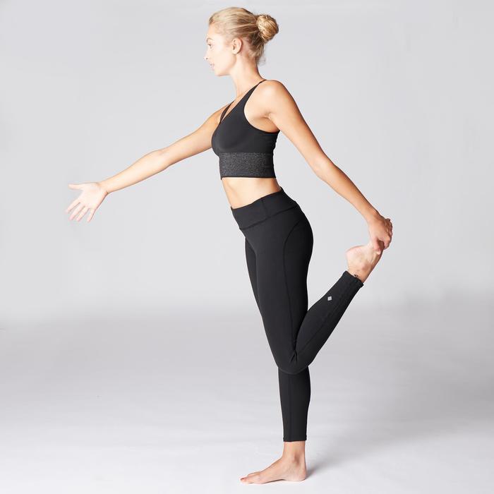 Legging YOGA+ respirant femme noir