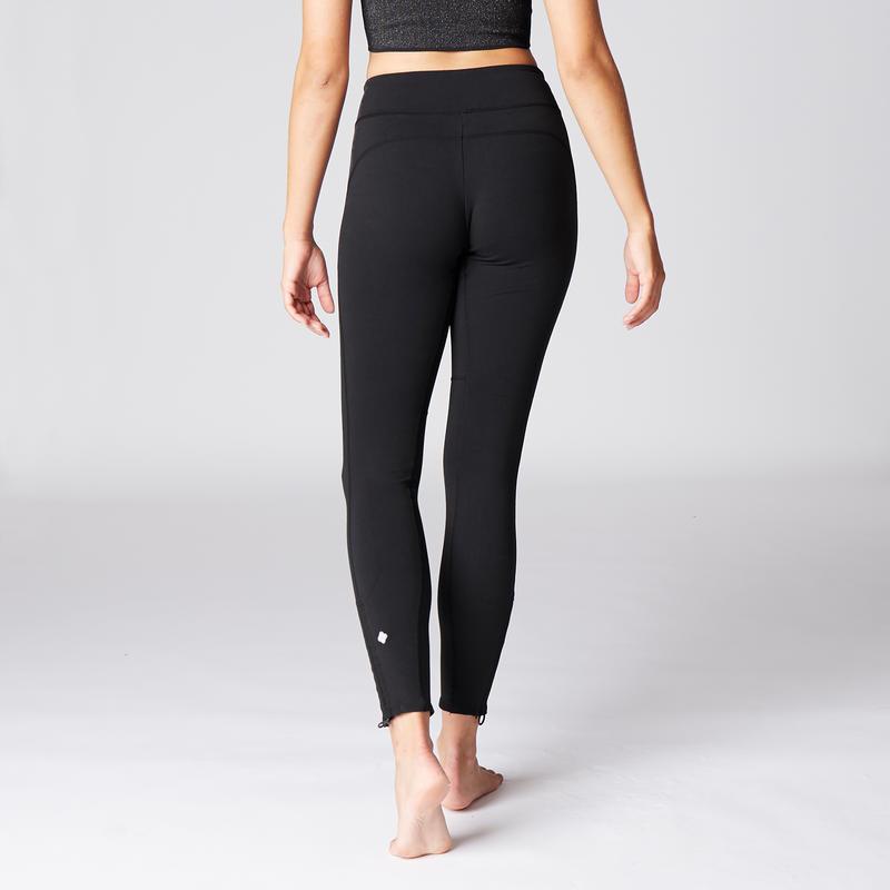 Dynamic Yoga Leggings - Black