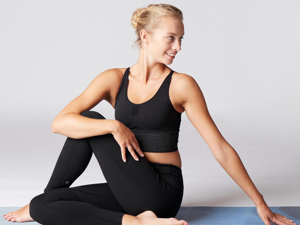無縫瑜珈運動內衣