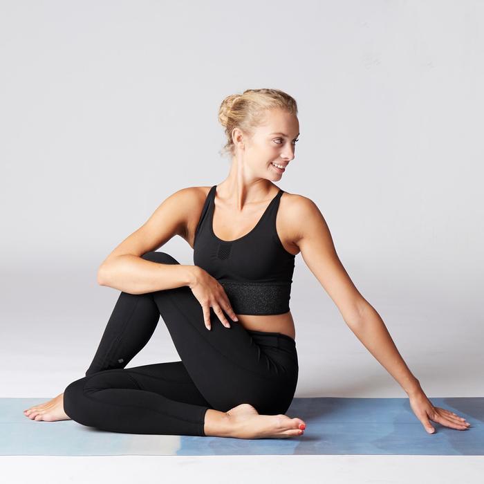 Legging voor dynamische yoga zwart