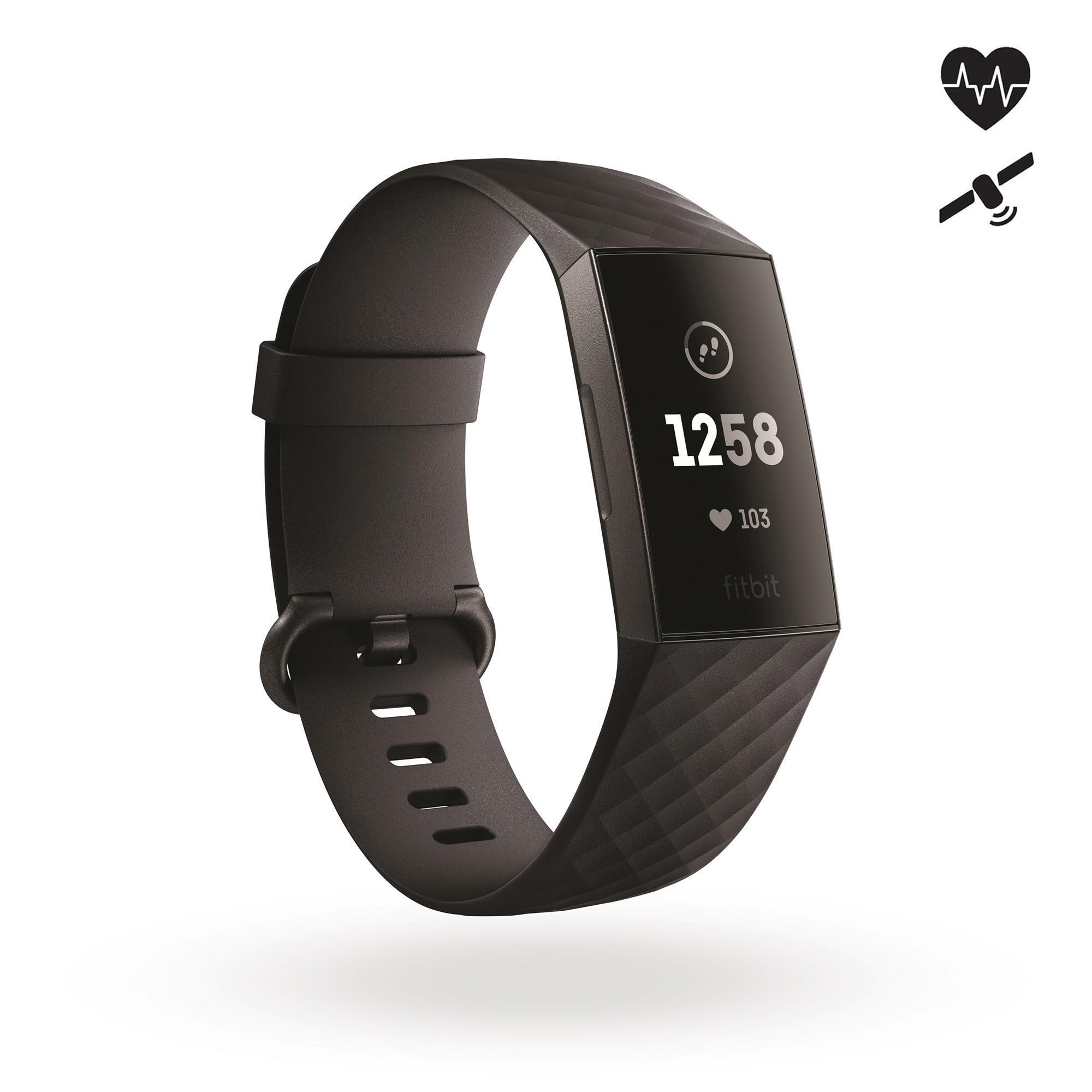 fitness sans fil Fitbit Alta HR Rythme Cardiaque Couleur: Black Taille: Small