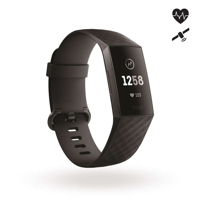HEART RATE MONITORS Running - Charge 3 Activity Wristband FITBIT - Running Accessories