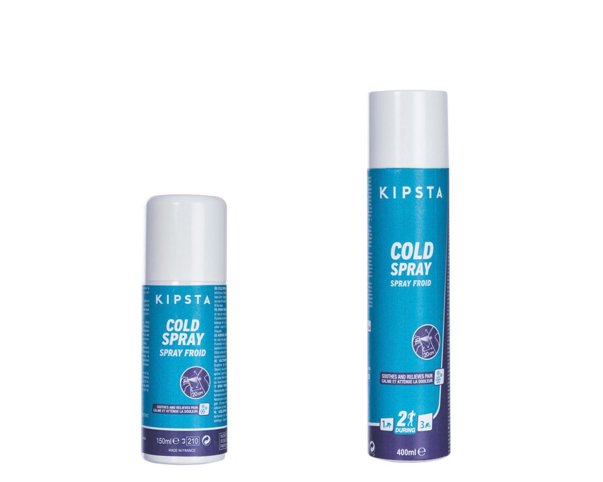 La gamme de soins froid