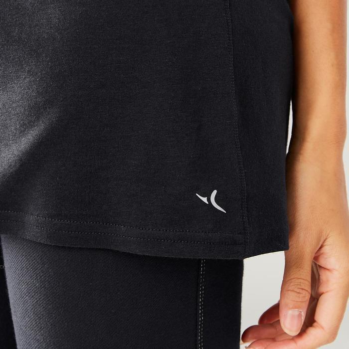 eefd55a810b60 Domyos Tee-shirt large danse urbaine look boyfriend femme | Decathlon