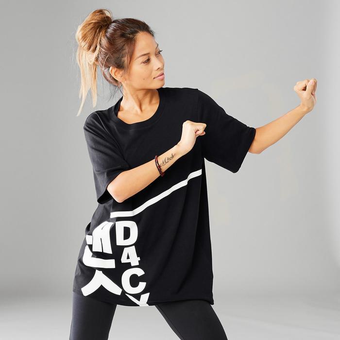 T-Shirt weit Street Dance Boyfriend-Look Damen