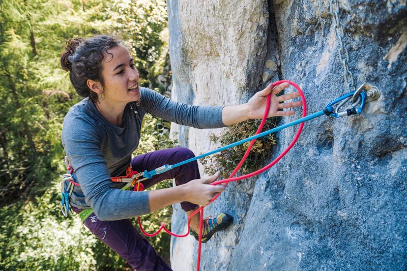 Climbing & Mountaineering Single Lanyard 75 cm