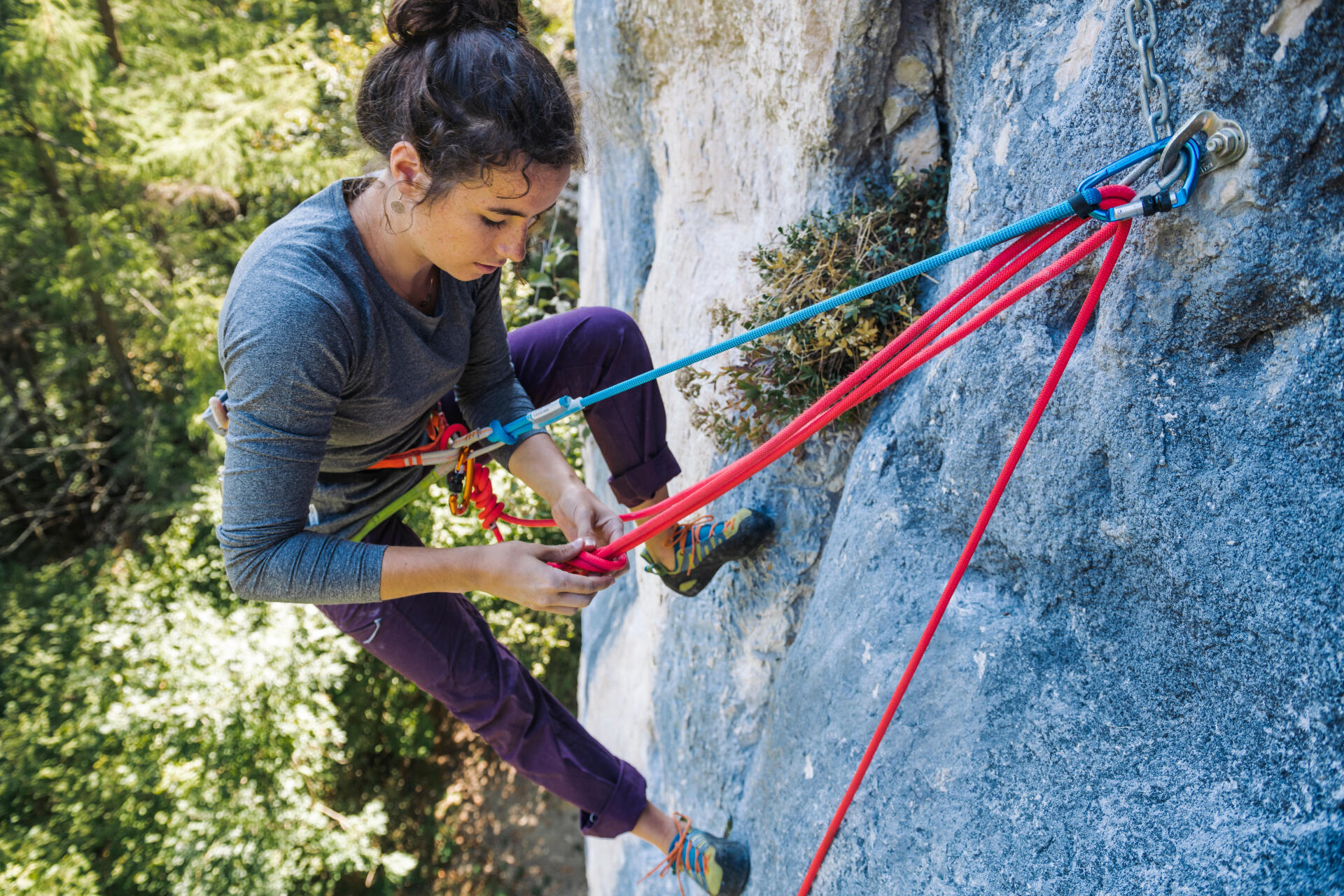 Comment s'équiper pour grimper en extérieur ?