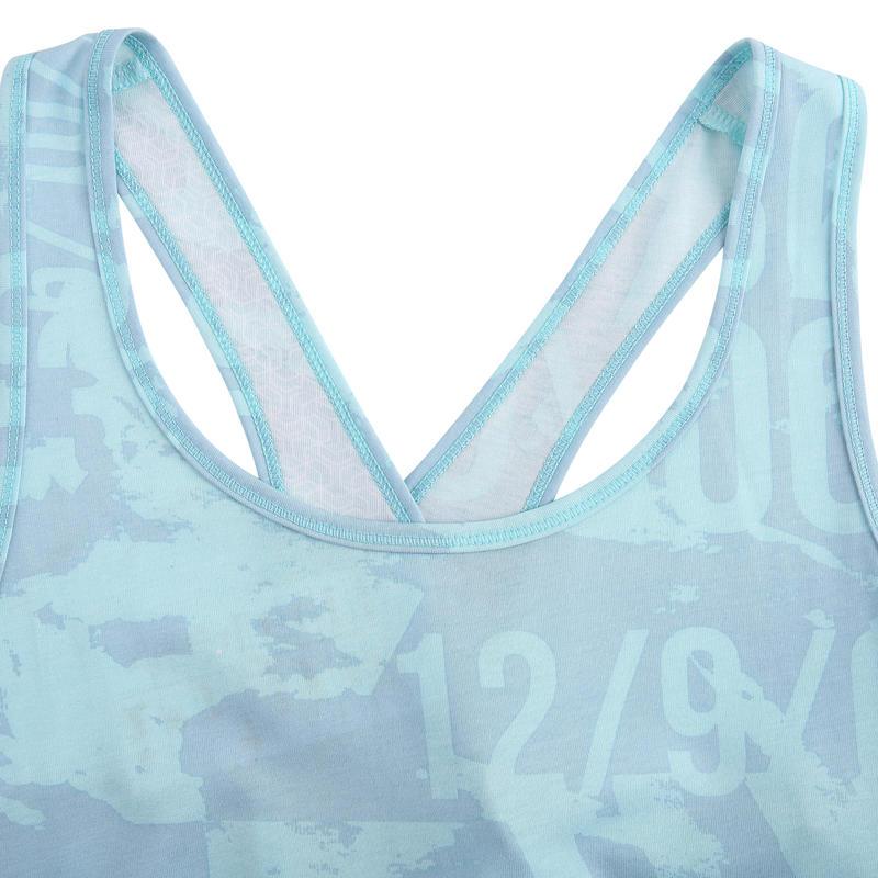 Women's Cross Training Tank Top - Blue