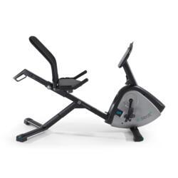 PRODUCTO REACONDICIONADO: Bicicleta Estática con respaldo Domyos E - Seat