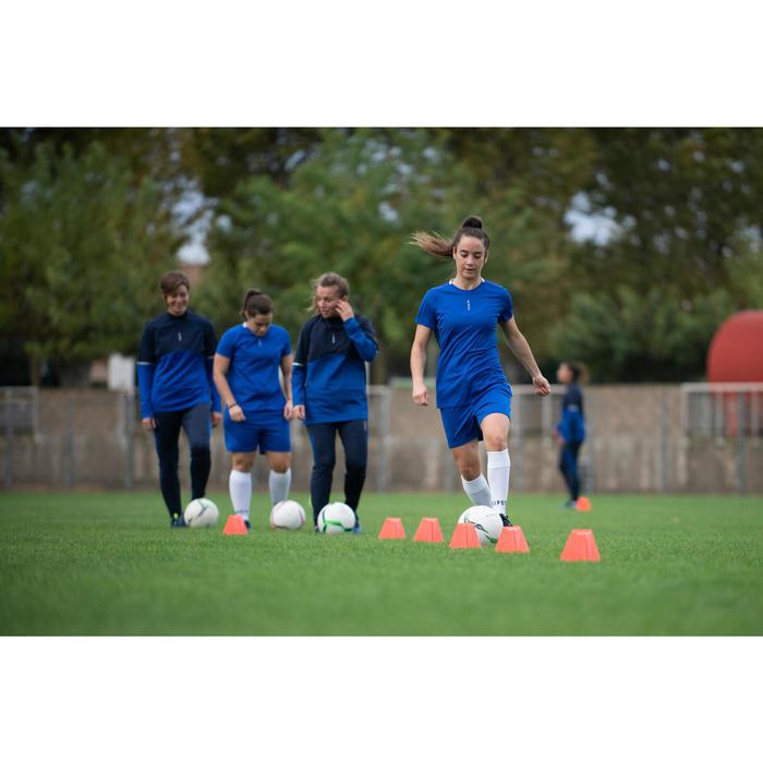 Voetbalshirt voor dames F100 blauw