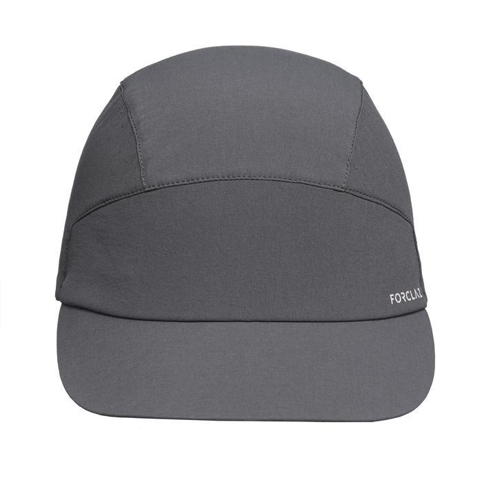 通風、極輕量登山健行帽TREK 500 COMPACT-深灰色