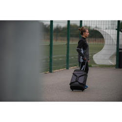 Sweatshirt Trainingsshirt T500 Fußball Damen schwarz