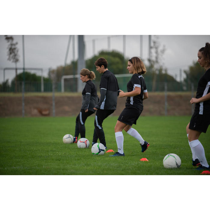 Voetbal trainingsbroek dames T500 zwart
