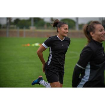 Voetbalshirt dames F500 zwart