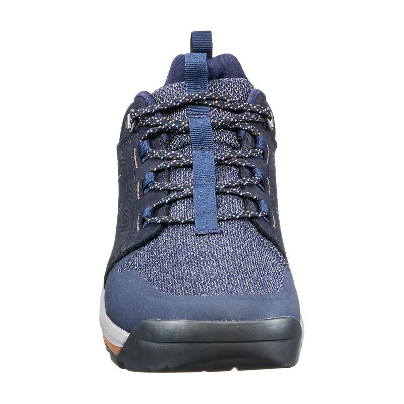 Giày ủng đi bộ vùng đồng bằng NH500 cho nam – Xanh Navy