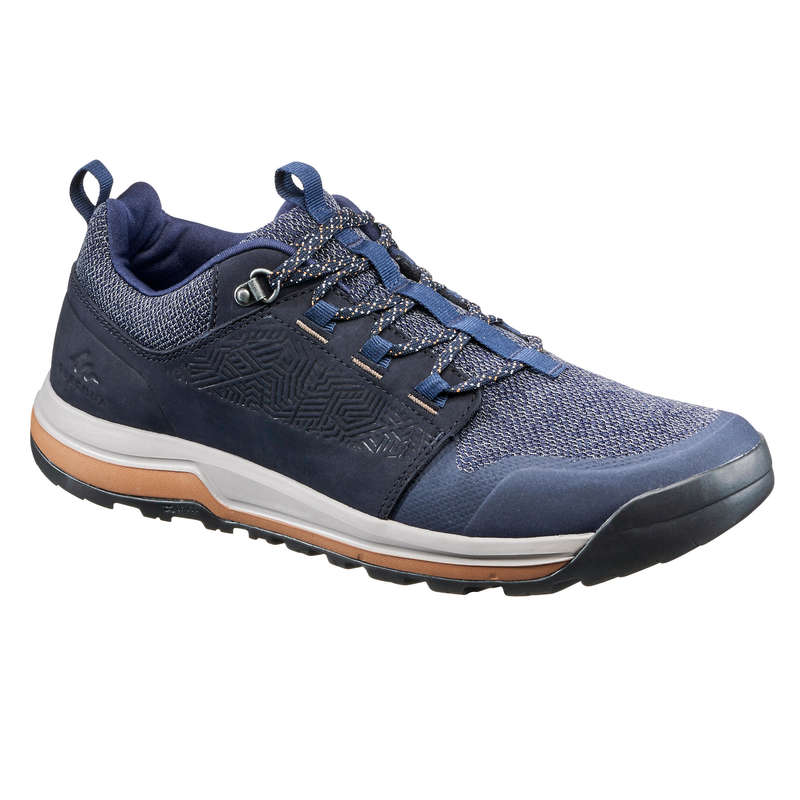 MEN NATURE HIKING SHOES Hiking - Shoe NH500 - Blue QUECHUA - Outdoor Shoes