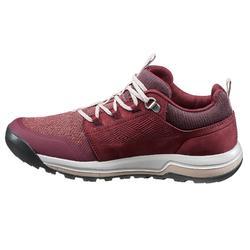 Chaussures de randonnée nature NH500 bordeaux femme