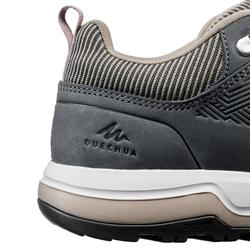 Chaussures de randonnée nature NH500 beige gris femme