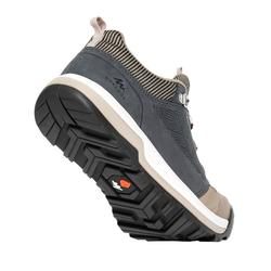 女款鄉村健行鞋NH500-米灰色