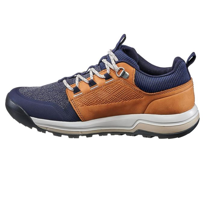 NH500 Women's Country Walking Boots - Navy Beige