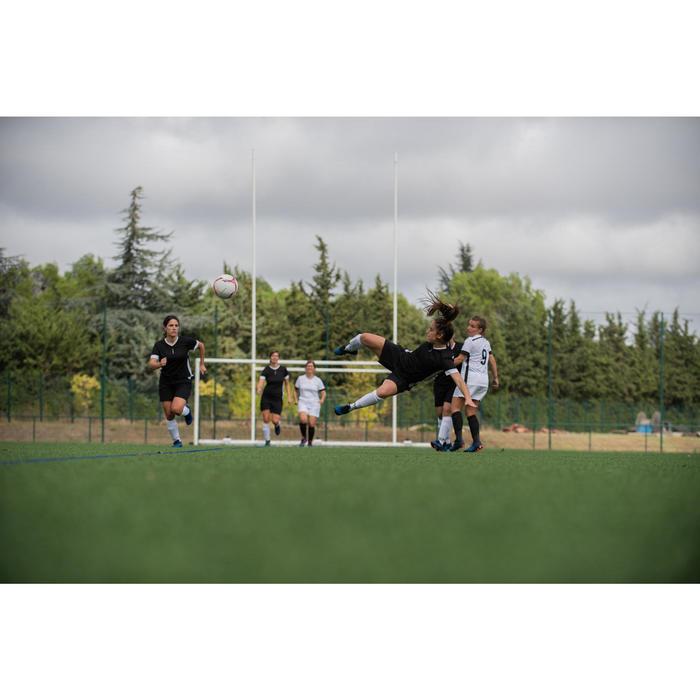 Fußballshorts F500 Damen schwarz
