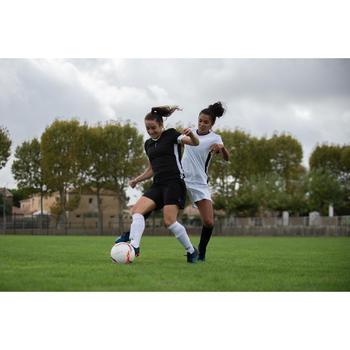 F500 Women's Football Jersey - Black/White