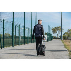 Sporttasche mit Rollen Trolley Intensive 30 Liter schwarz/rot