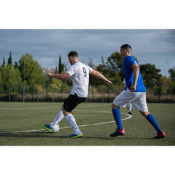 Voetbalschoenen voor volwassenen Agility 140 HG hard terrein grijs