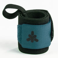 Weight Training Wrist Support and Protection Wraps Velcro Fastening - Blue