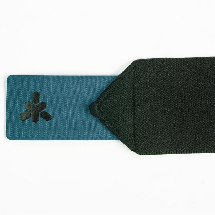 Handgelenk-Stützbandagen Krafttraining Klettverschluss blau